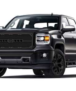Sniper Truck Grille Primary Grille for 2007-2013 Gmc Sierra 1500 fits All Except All Terrain Models Or Vehicles Equipped With Chrome Package Grilles models (Matte Black finish)