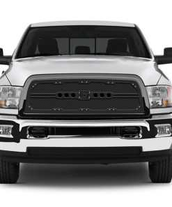Sniper Truck Grille Primary Grille for 2013-2015 Dodge Ram 2500/3500 fits All models (Matte Black finish)