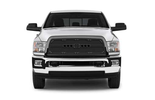 Sniper Truck Grille Primary Grille for 2013-2015 Dodge Ram 1500 fits All models (Polished finish)
