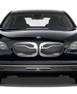 Macaro Primary Grille for 2002-2006 Bmw 745 fits All models (Triple Chrome finish)