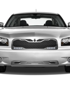 Macaro Primary Grille for 2005-2010 Dodge Charger fits All models (Matte black finish)