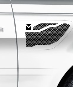 Macaro Side Vents for 2010-2013 Range Rover Sport fits Sport models (Triple Chrome finish)