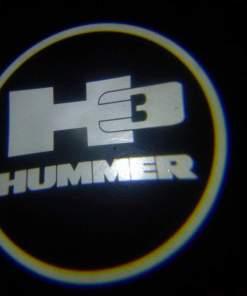 Hummer 3 Door Projector Courtesy Puddle Logo Light
