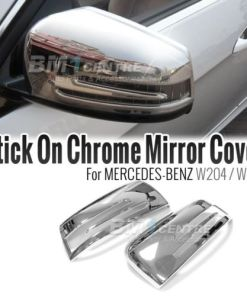 CHROME SIDE MIRROR COVER SET