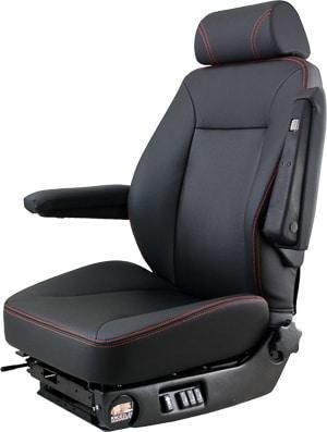 Knoedler Low profile suspension seat-black