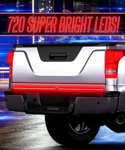 Truck Tailgate Light w: Chasing Turn Signal-2