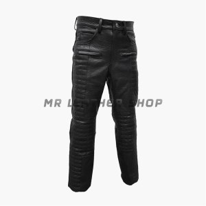 Crocodile Leather Pants