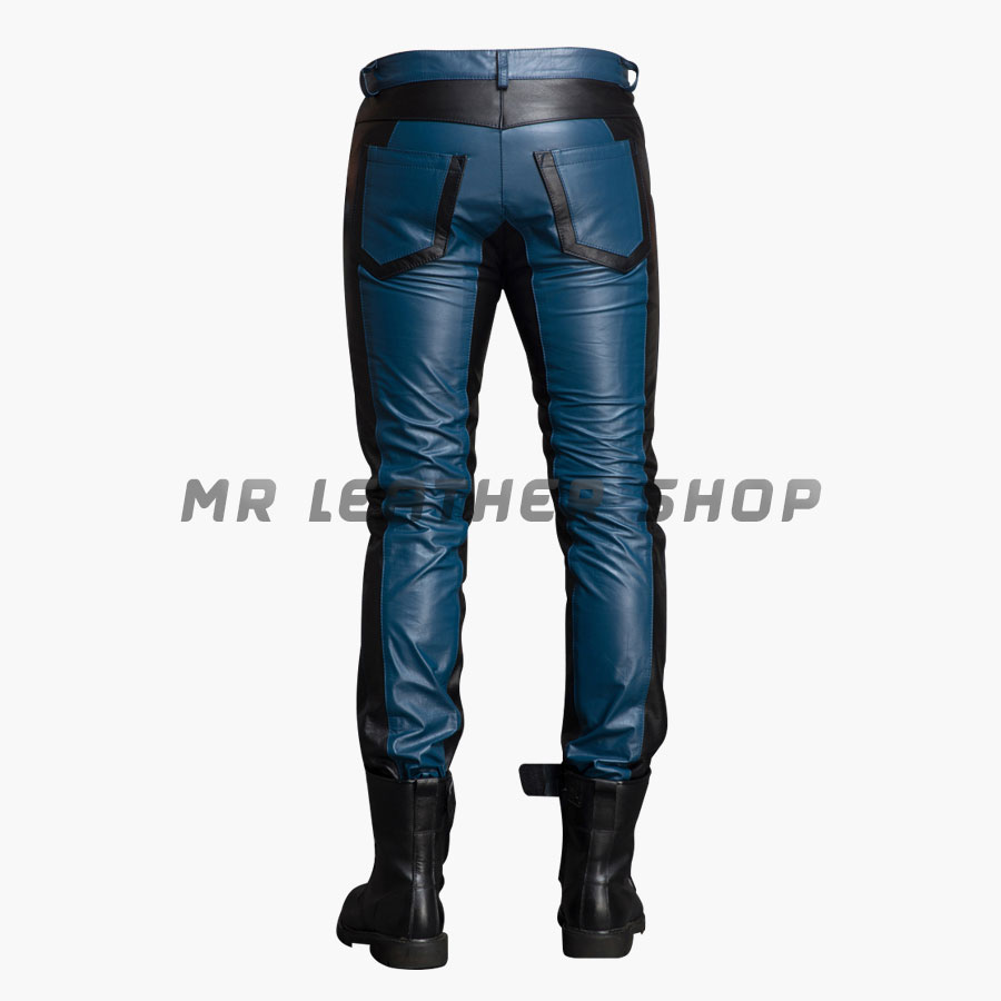 Gay Leather Jeans