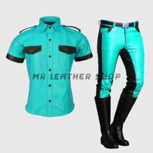 breeches leather uniform
