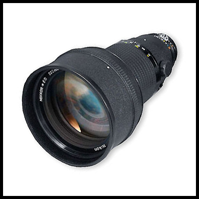 Nikkor-200mm-f2-review AI-s lens photo