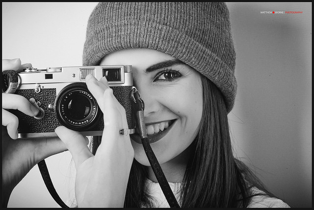 Leica m2 review - girl with leica