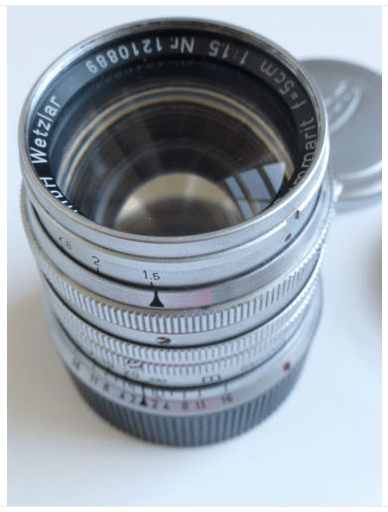 Leica Summarit 50mm f1.5