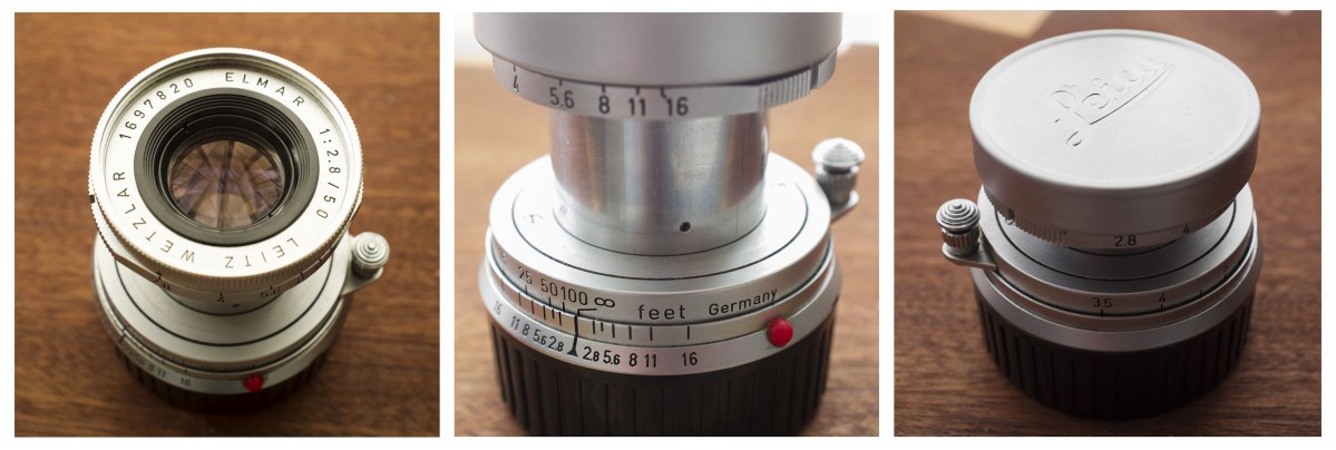 Leica Elmar 50mm f2.8 – Collapsible