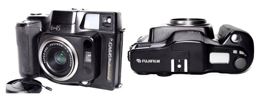 Fuji GA645 camera - medium format film camera 645