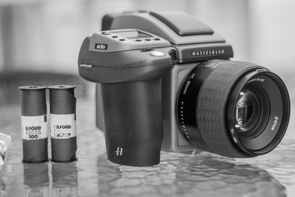Hasselblad H3d-31 camera - with film back
