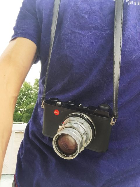 leica cl review - summicron 50 dr
