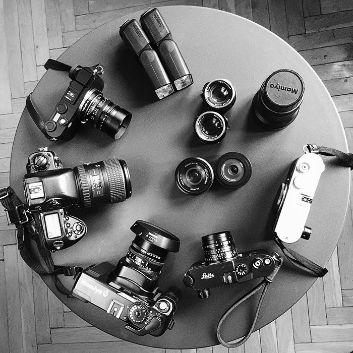 leica cl with m lenses - cameras