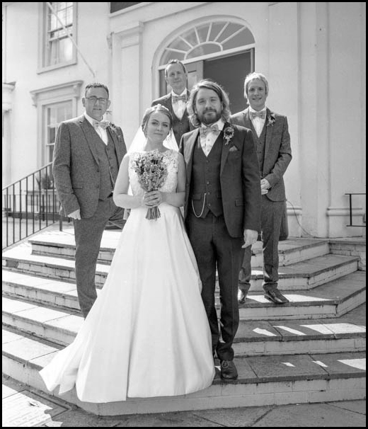 Mamiya 7 Review - 6x7 Wedding Photography B&W