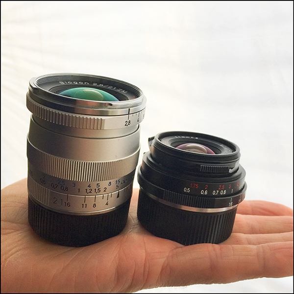 Voigtlander 21mm vs Zeiss ZM 21mm Biogon