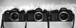 Nikon FM vs Nikon FE vs Nikon FE2 comparison