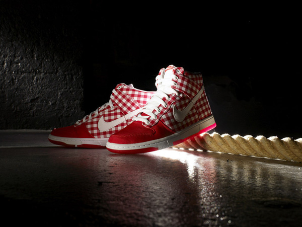 Nike Sportswear Dunk Hi Skinny Checker