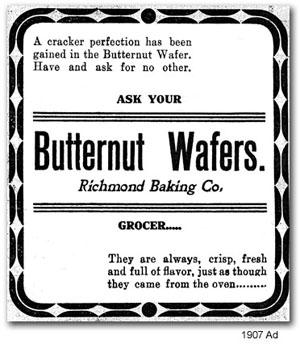 Butternut Wafers ad