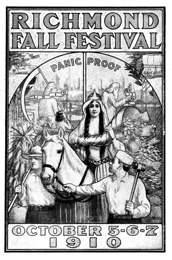 Poster for the 1910 Fall Festival