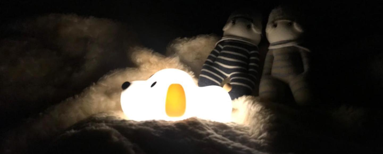 交換禮物、自送首選,愛禮物呆呆汪定時小夜燈