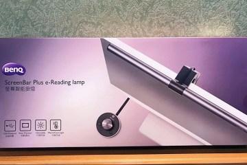 辦公室護眼必備推薦,WiT ScreenBar Plus 螢幕智能旋鈕版掛燈 6