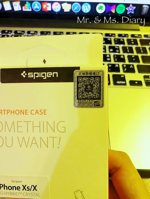 IMG_7166 防摔手機殼推薦!Spigen iPhone X/Xs/XsMax/XR Neo Hybrid Crystal