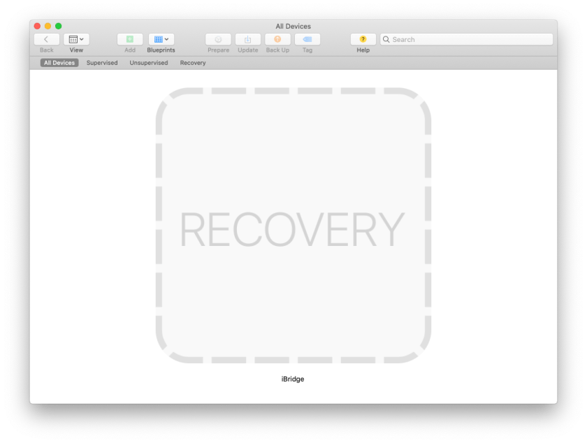 MrMacintosh.com - Apple Configurator 2 Reports RECOVERY instead of DFU Status.