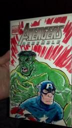 Hulk & Cap
