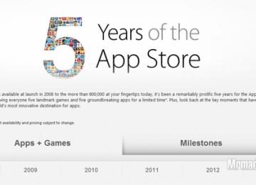 App Store五歲了!慶祝五週年慶活動開跑