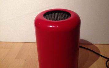 世界上第一台仿造New Mac Pro紅色版誕生