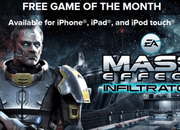 [限時免費]趕緊來搶iOS遊戲「Mass Effect Infiltrator」iGN免費下載代碼