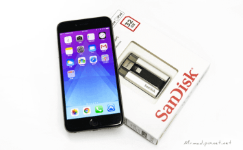 空間不夠用啦?!iPhone、iPad必備的外接儲存設備神器「SanDisk iXpand」
