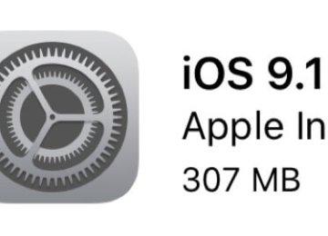 蘋果正式版發佈最新最穩定iOS9.1版本!封殺盤古iOS9越獄工具