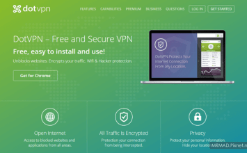 [VPN教學]最安全免費加密傳輸VPN工具「DotVPN」支援多國