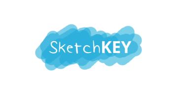 [iPhone/iPad限時免費]「SketchKEY Keyboard」讓手繪塗鴉版變成第三方輸入法