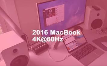 [MAC教學]輕鬆讓2016年MacBook輸出支援60Hz 4K螢幕解析度