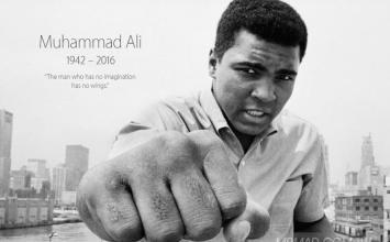 Apple官方首頁悼念世界拳壇傳奇穆罕默德·阿里