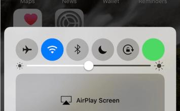 最新發現iOS10控制中心可增加行動數據快速開關