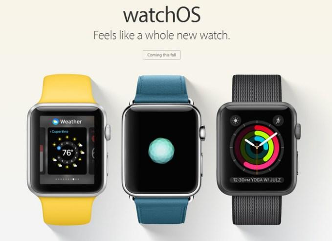 watchOS-WWDC