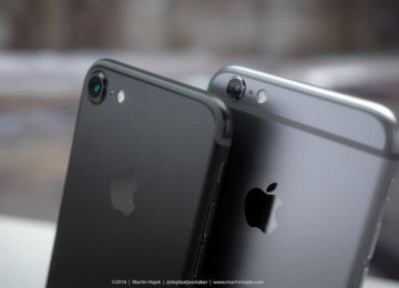 揭開iPhone7太空黑色面貌!搭配黑色Lightning EarPods耳機