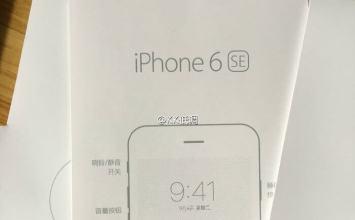 會叫iPhone 6 SE?6 SE外殼洩密照與跑分截圖曝光