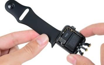 Apple Watch 2 已經被 iFixit 拆解!電池容量曝光