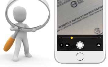 [iOS10教學]文字不容易辨識?透過iOS 10隱藏放大鏡功能來閱讀