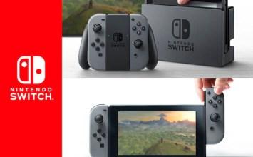任天堂最新二合一遊戲機Nintendo Switch登場!結合家用與掌上型