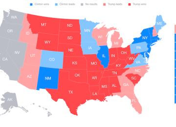 透過iOS、Mac、Apple TV即時關注2016美國總統大選開票結果