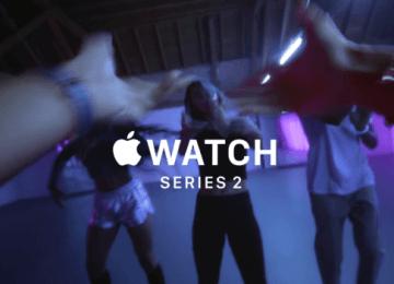 蘋果在聖誕節前替Apple Watch Series 2推出四部最新15秒廣告